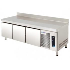 MESA REFRIGERADA ALTURA ESPECIAL 600 mm. MPGB-180 - 3 CAJONES -  EDENOX