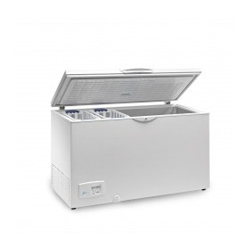 CONGELADOR TAPA ABATIBLE HF500-AL INF.(1400x660x860 mm.) INTERIOR ALUMINIO